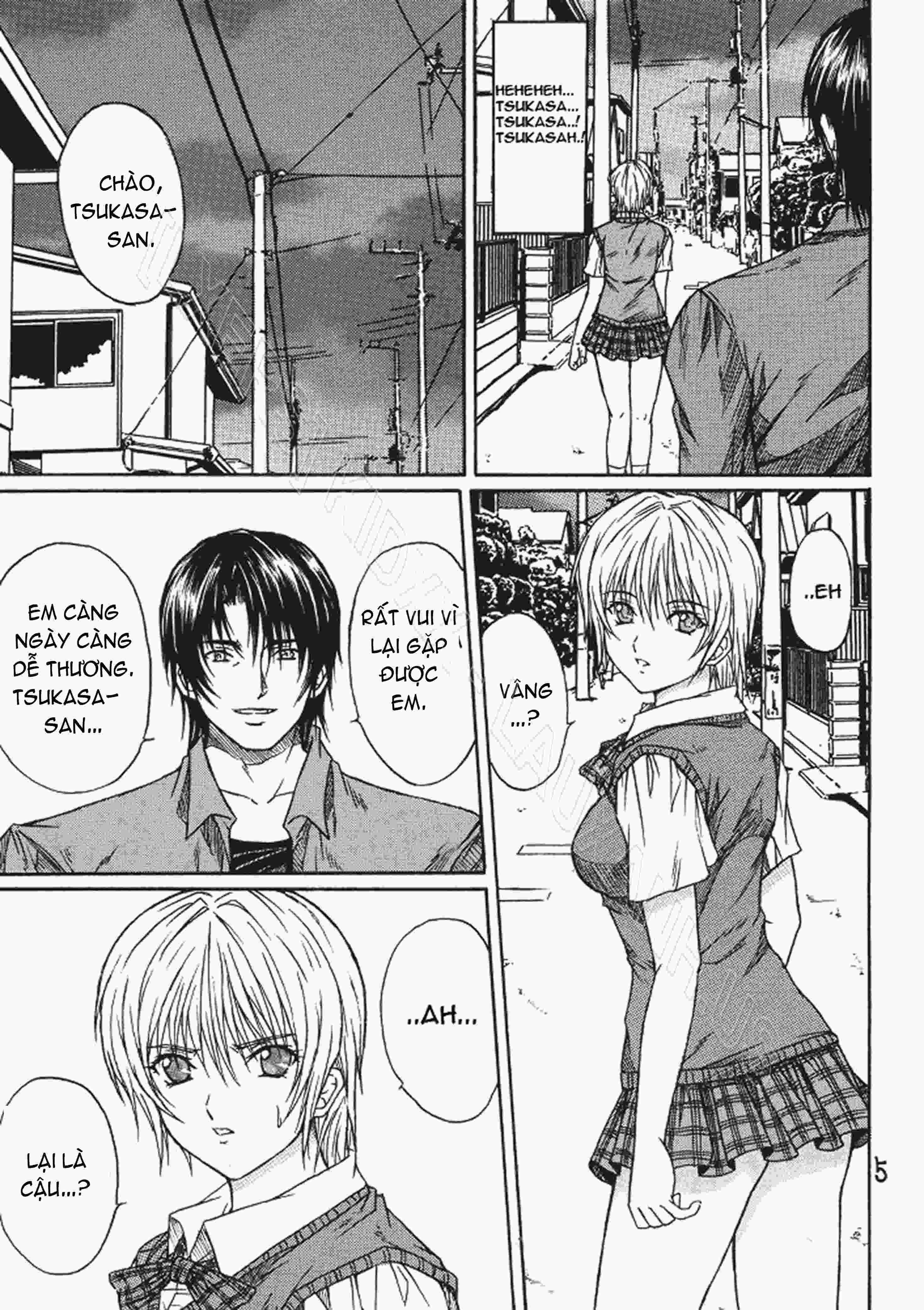 TruyenHay.Com - Ảnh 4 - Ryoujoku Rensa Chapter 3