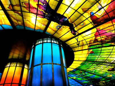Dome of Light Glass Panel Artwork Kaohsiung Taiwan