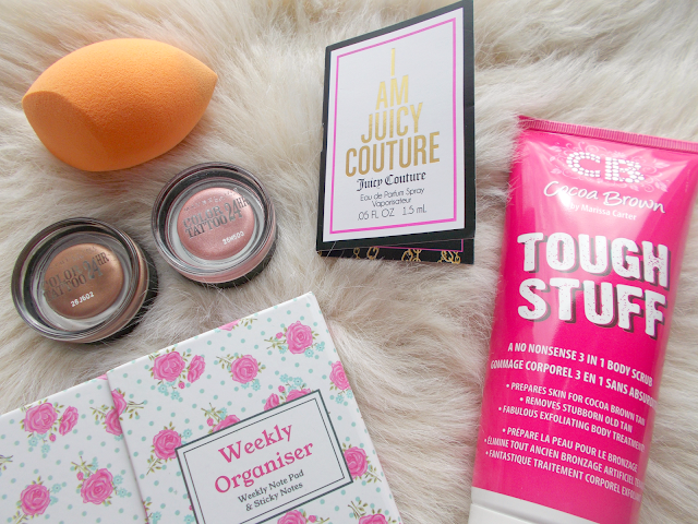 August Favourites including beauty, fashion & stationery items!