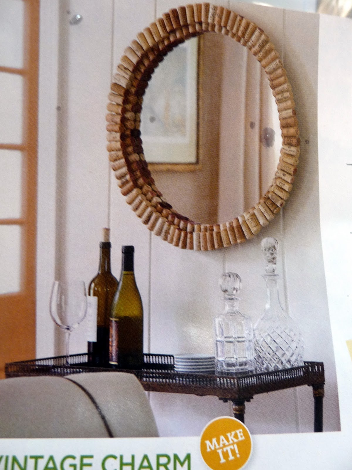 teapots and polka dots wine cork ideas