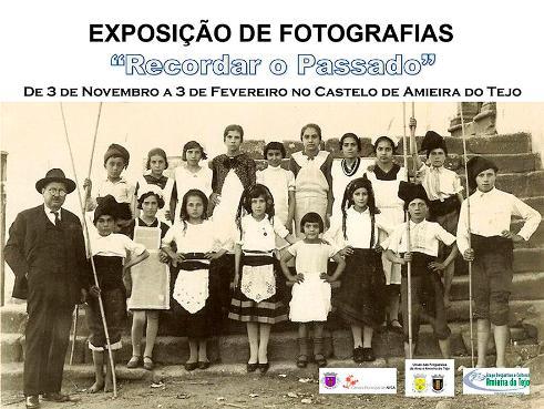 """AMIEIRA DO TEJO: EXPOSIÇÃO """"RECORDAR O PASSADO"""""""