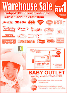 Baby & Children Products Warehouse Sale 2012