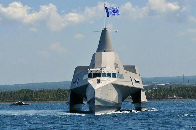 KRI Klewang 625 - Kapal Perang Trimaran Siluman TNI AL