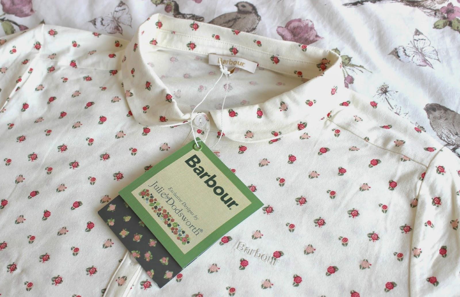 Barbour Cream Avalon Polo Shirt