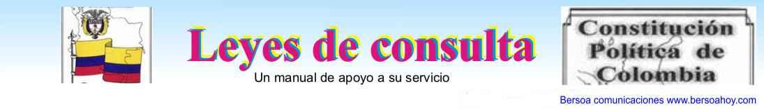 LEYES DE CONSULTA