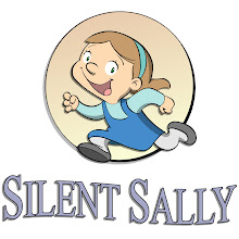 "My new book, ""Silent Sally"""