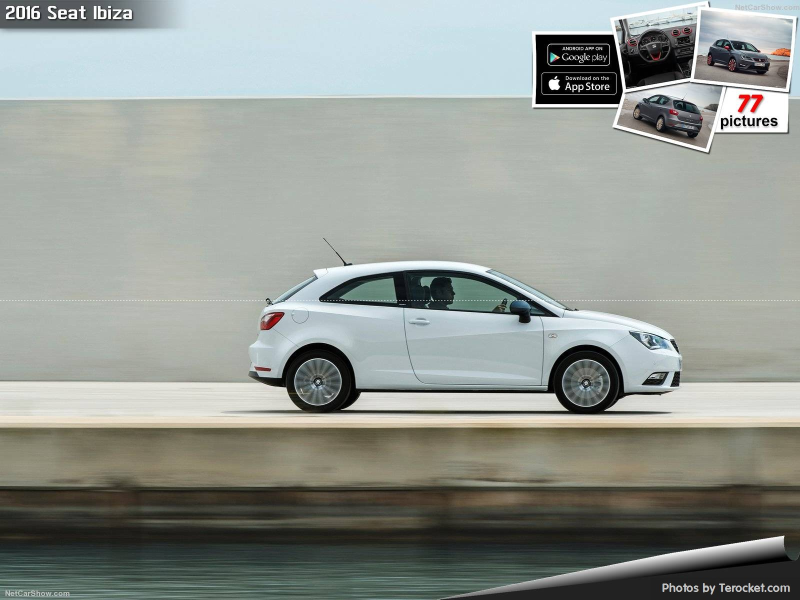 Hình ảnh xe ô tô Seat Ibiza 2016 & nội ngoại thất