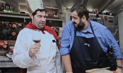 A Fuego negro parodia en Gastronomika 2012 Blog Esteban Capdevila