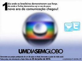 UM DIA SEM A GLOBO  POUCO!