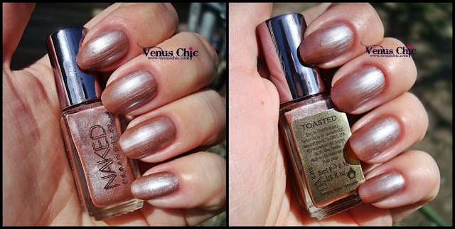 Swatch Naked by Urban Decay - Toasted