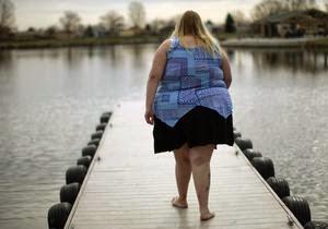массовое ожирение.