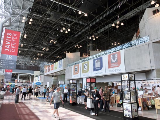 ニューヨーク・国際ギフトフェア(ジェイビッツセンター)