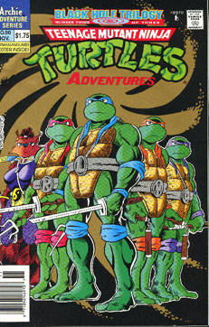 The Cover of TMNT Adventures #50