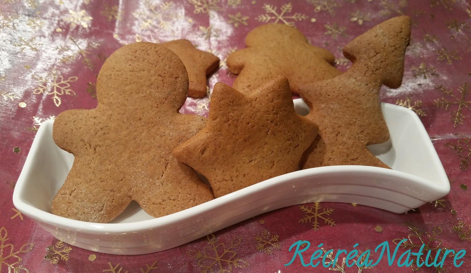 Biscuit au gingembre et cannelle