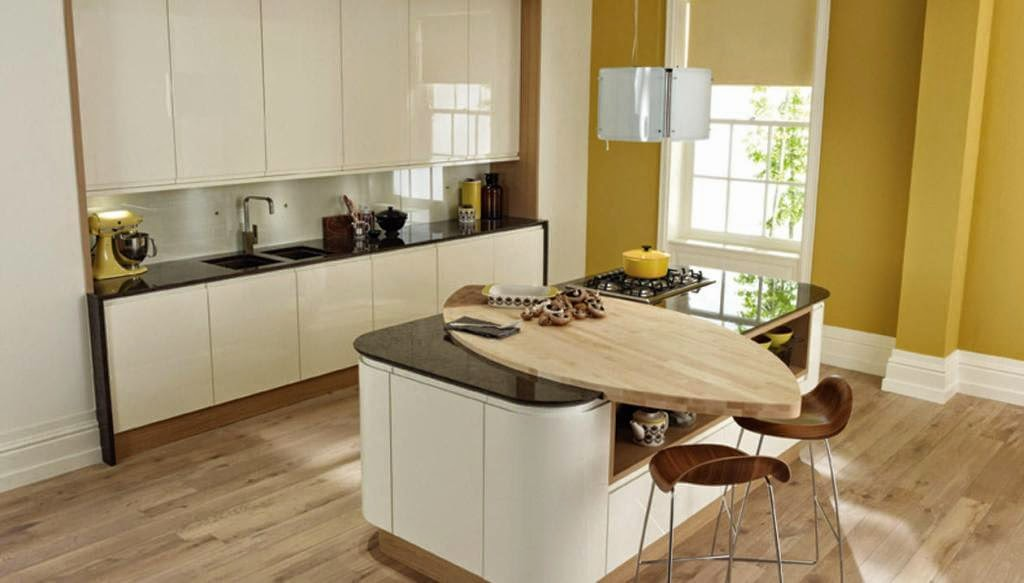 30 modelos de mesas y barras para cocinas de todos los estilos ...