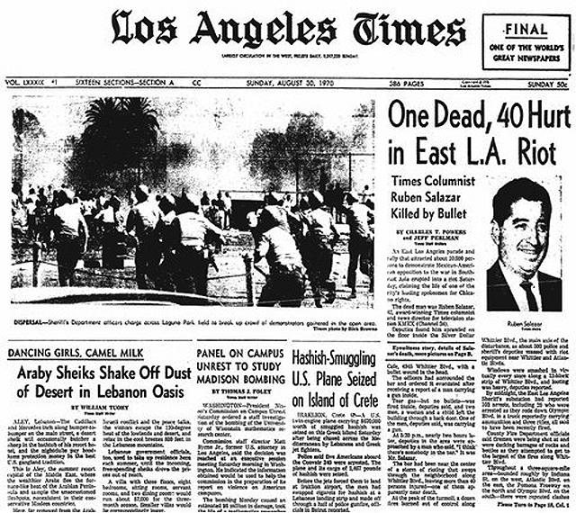 East LA riots