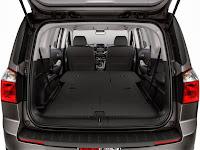 Chevrolet Orlando cu toate scaunele rabatate