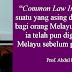 UNDANG-UNDANG MALAYSIA HARUS DIGUBAL SEMULA DARI 'ENGLISH COMMON LAW' KEPADA 'ISLAMIC COMMON LAW' - PROFESOR ABDUL BASIR MOHAMAD
