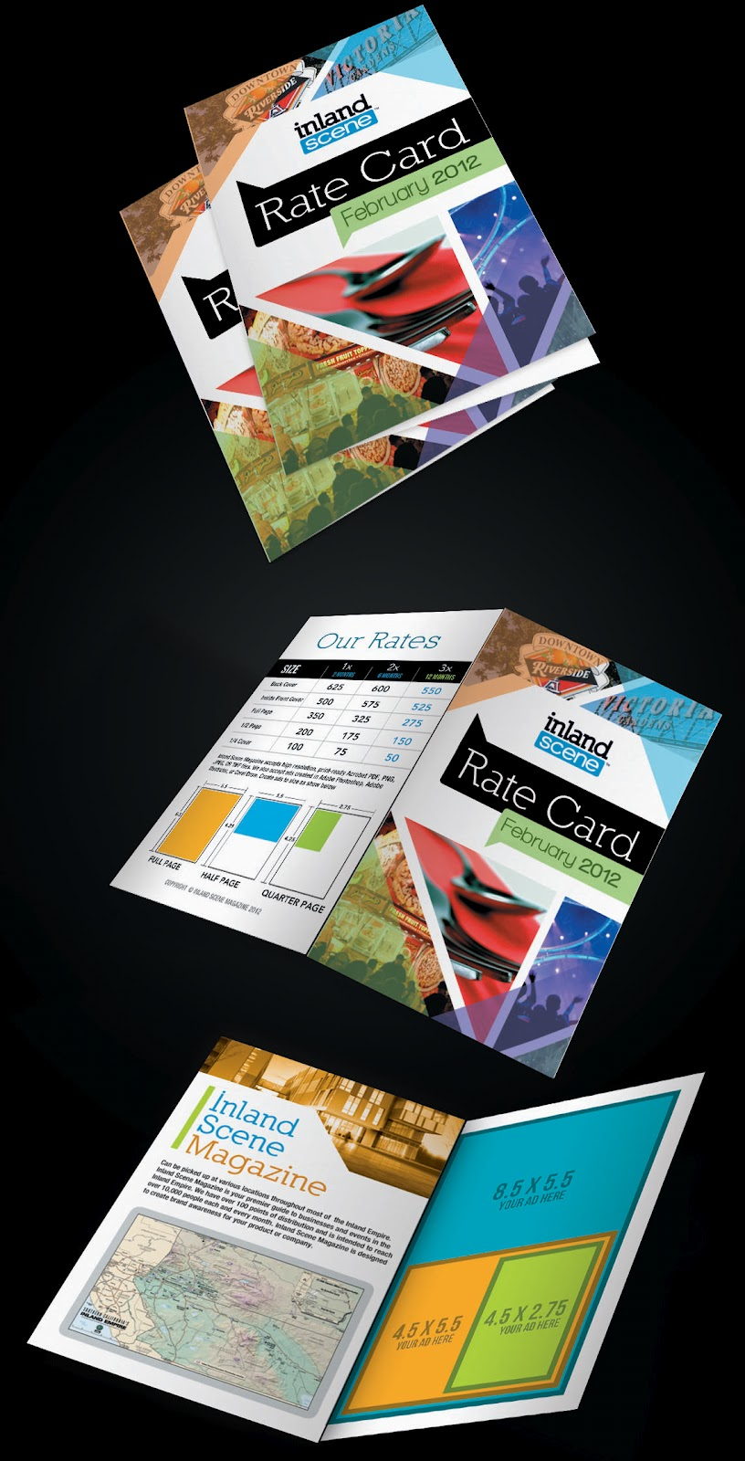 Rate Cards For Magazines Magazine Rate Card Design