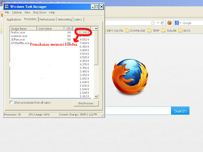 Review Firefox yang membuat komputer,netbook,laptop lambat