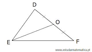 Mediana, bissetriz e altura de um triângulo