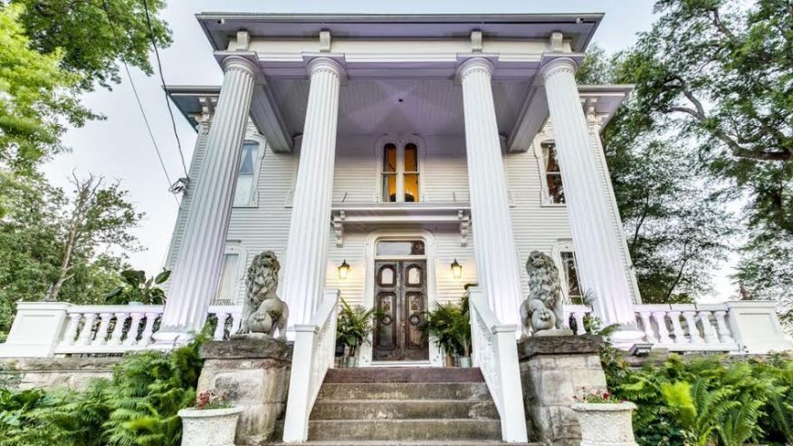 National paranormal association haunted mansion for sale for Abandoned mansions in new york for sale