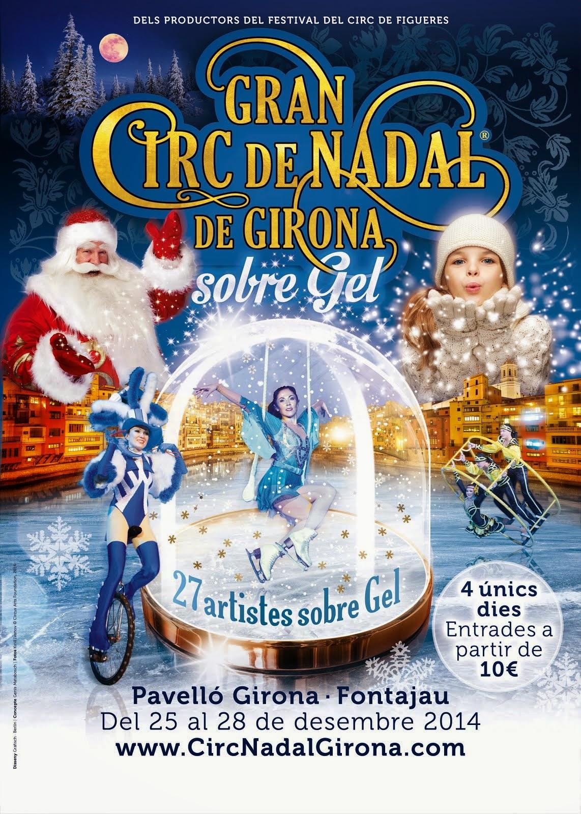 Burguscircus média officiel du Grand cirque de Noël Gérone
