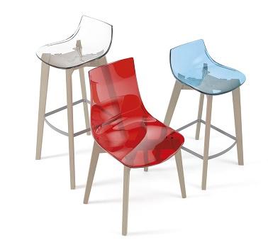 Mesas y sillas de cocina y comedor extensibles cancio vetas for Sillas cocina transparentes
