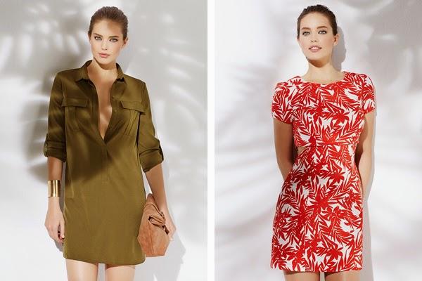 ropa de mujer primavera verano Suiteblanco vestido corto y camisero