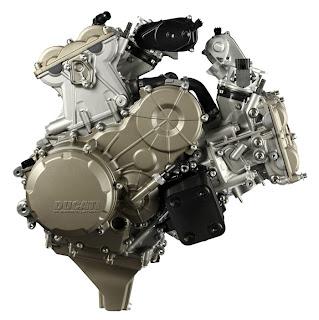 2012-square 195hp Ducati L-Twin Engine