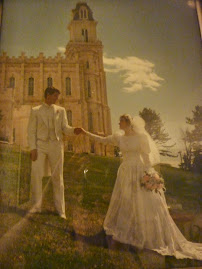 Wedding day Manti Temple
