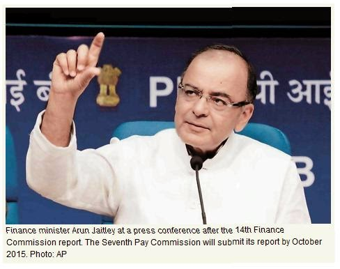 Seventh Pay Commission Expected in October 2015