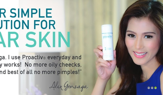 Alex Gonzaga, First Filipina Face of Proactiv