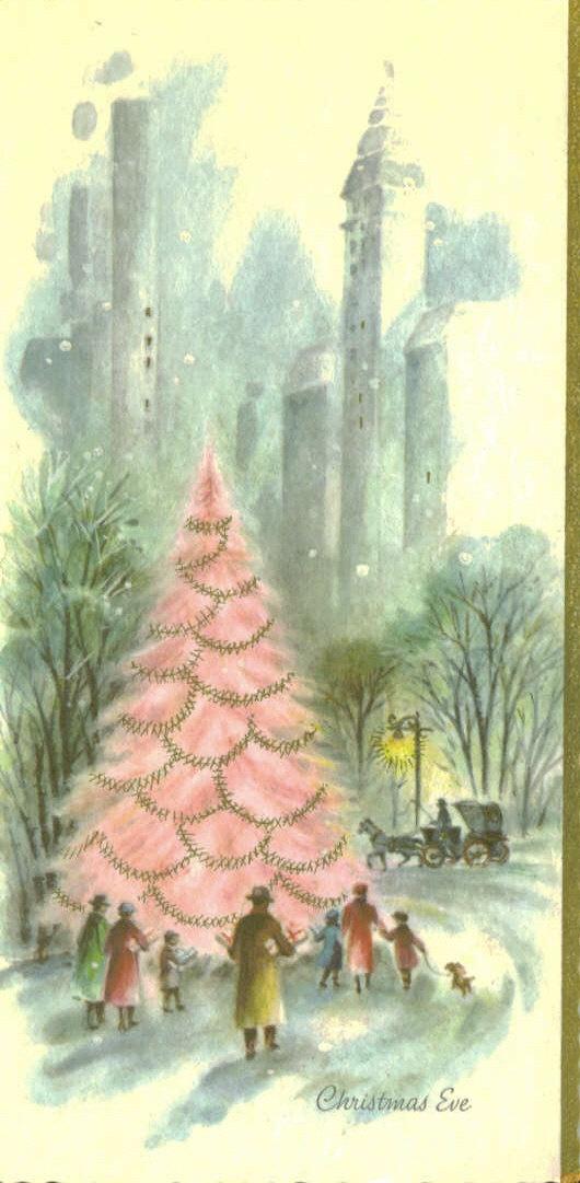 Desert Girls Vintage: Minor Obsession: Vintage Christmas Cards