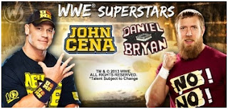 John Cena Daniel Bryan WWE Superstars Wizard World Philadephia