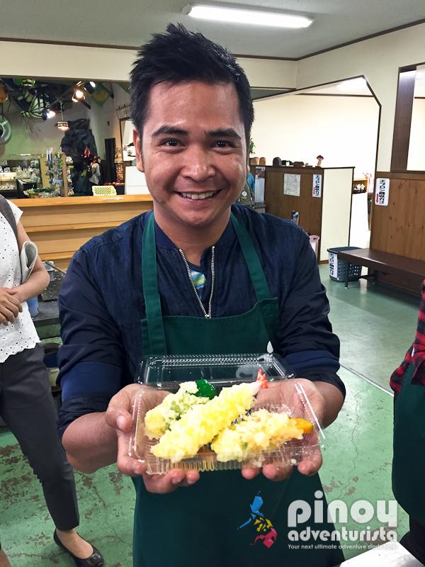 Japanese Food Sample Making at Sample Village Iwasaki in Gujo ...