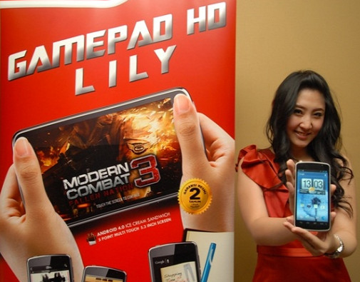 Cyrus Gamepad Lily Dengan Layar 5 Inci Harga Hanya 1 Jutaan