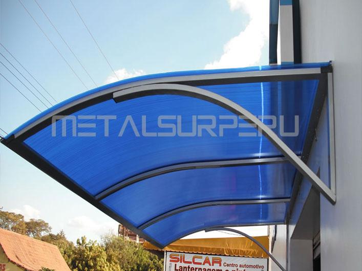 Techos de terrazas metalsur peru for Techos de metal para terrazas