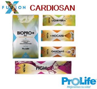 Cardiosan Producto Fuxion Prolife