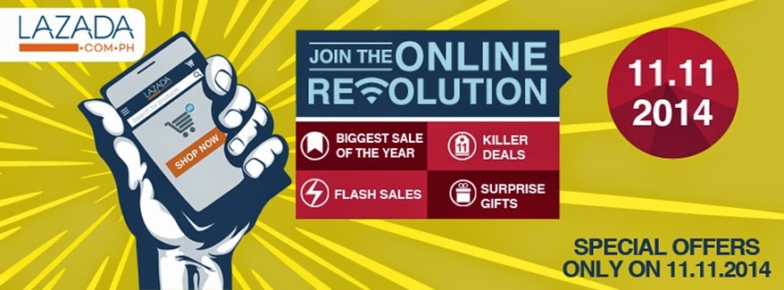 Lazada now ready for Online Revolution on November 11, 2014