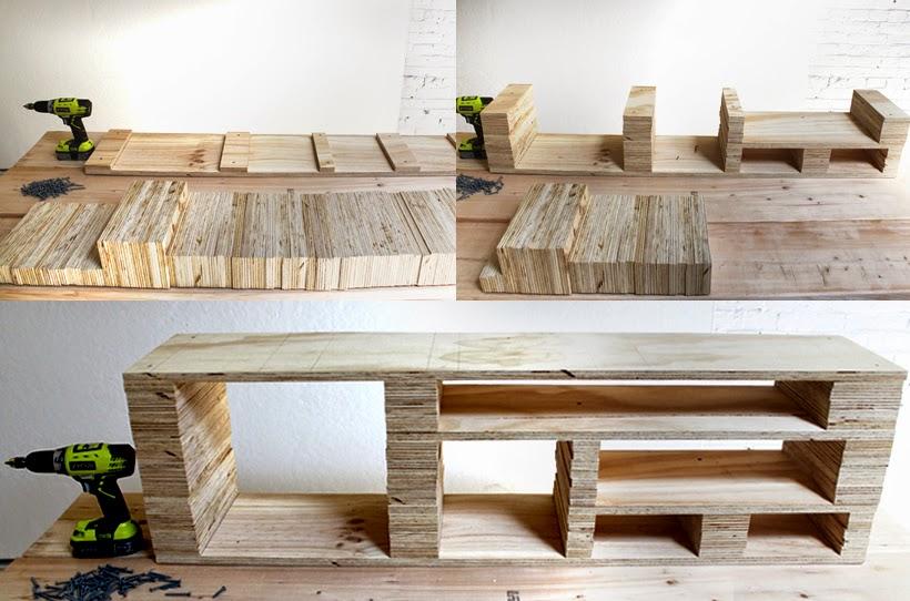 meuble tv palette tuto. Black Bedroom Furniture Sets. Home Design Ideas