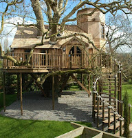 large tree house designs