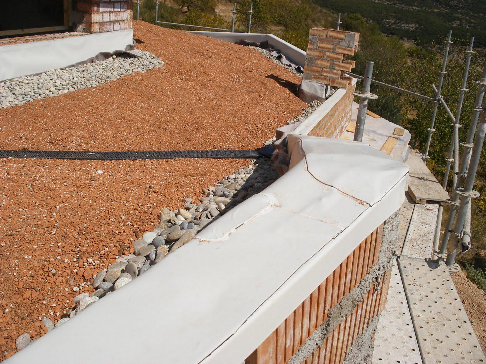 Construyendo la casa bioclimática: 12. Construcción 8. Cubiertas  #905D3B 1600x1200