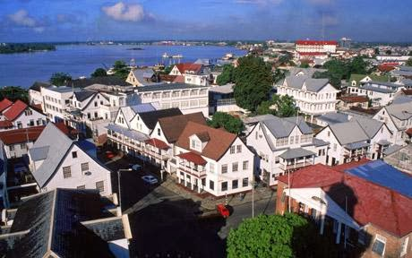 Paramaribo Surinam capital