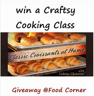 Craftsy Class Giveaway (upto $59.99 Value)