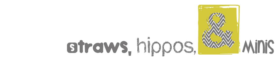 Straws, Hippos & Minis