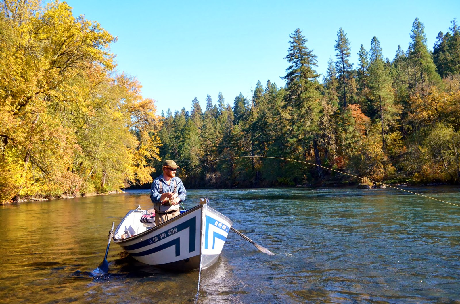 Rogue river and southern oregon fly fishing guide the for Rogue river oregon fishing