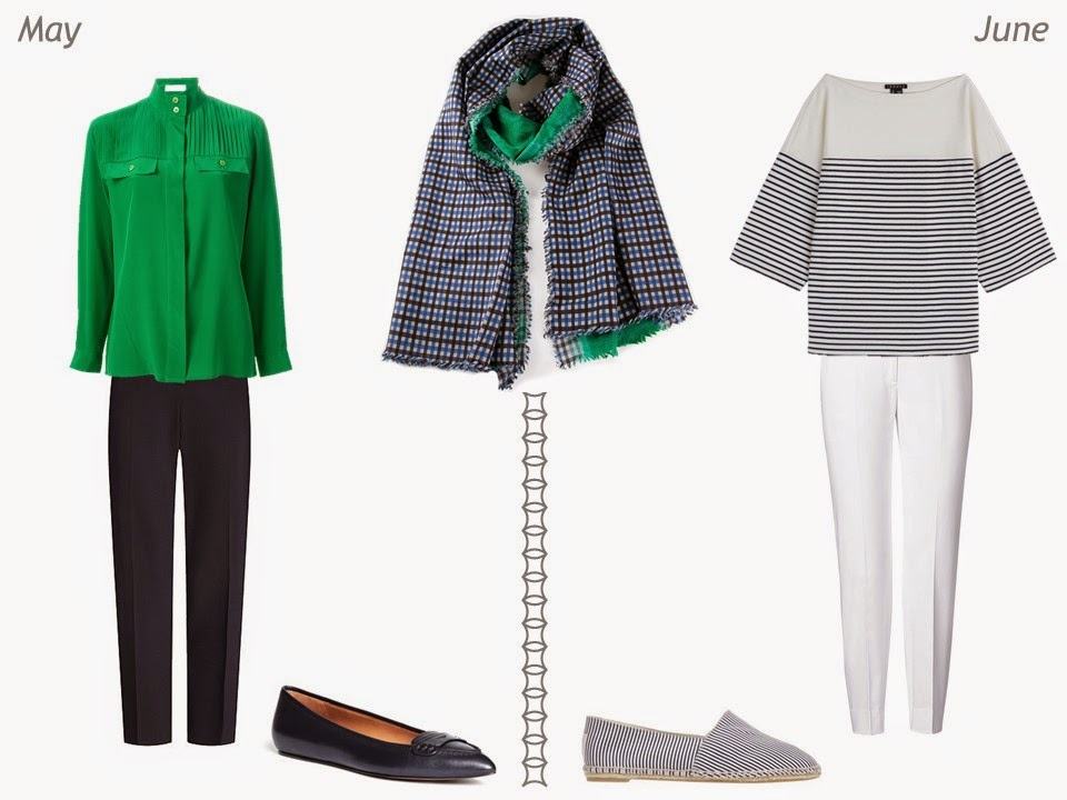 navy and green outfits for spring and summer May and June