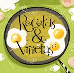 """El libro """"Recetas & Viñetas"""" a la venta! :)"""