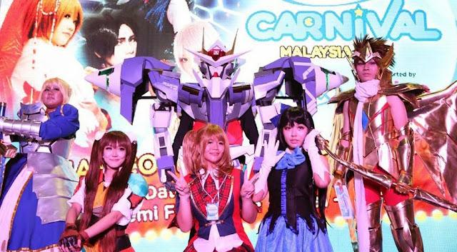 Animax Carnival Malaysia 2014 cosplay